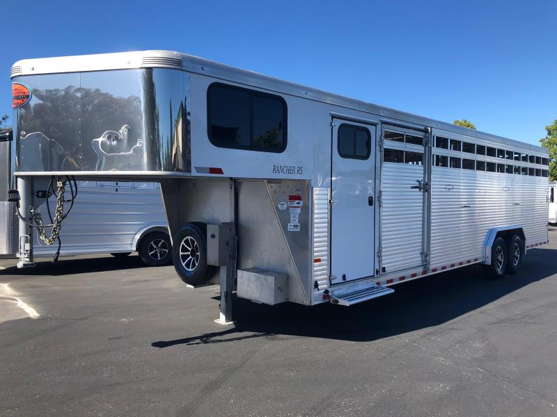 2018 Sundowner Trailers Rancher GN 28 TR Horse Trailer