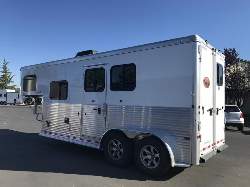 2019 Sundowner Trailers Santa Fe 6906 2H LQ Horse Trailer