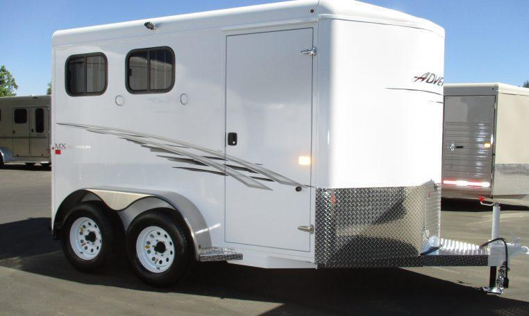 2019 Trails West Manufacturing Adventure MX 2H BP Horse Trailer