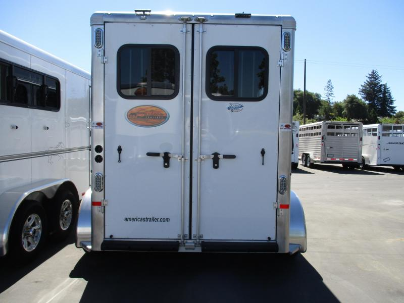 2020 Sundowner Trailers Sportman 2 Horse BP Horse Trailer
