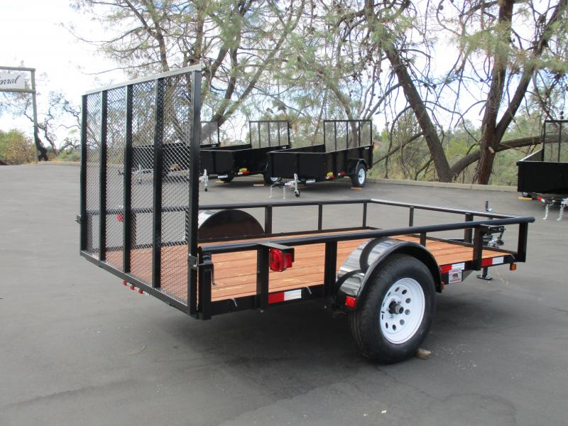 2018 R and J Trailers Inc 6 X 10 Utility Trailer 2.9K