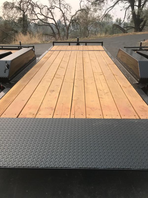 2019 R and J  7 X 20 Tilt Bed 14k