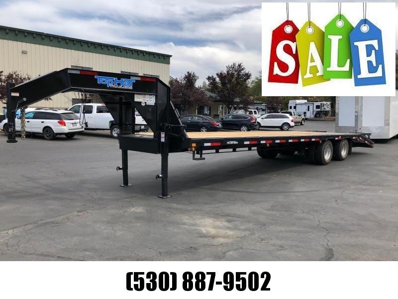 2018 Top Hat Trailers GN240-32x102-24 Equipment Trailer