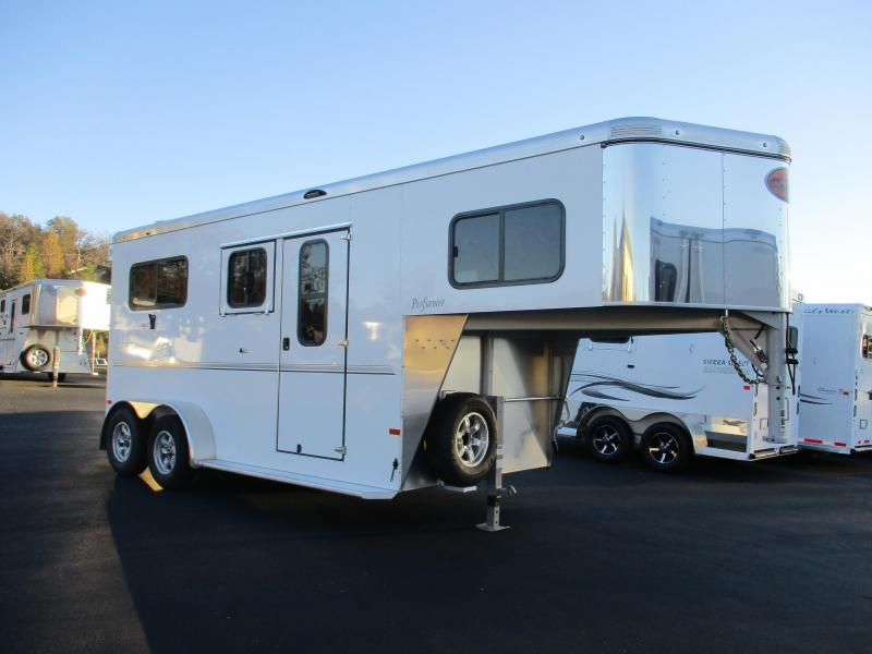 2018 Sundowner Trailers Performer 2H GN Horse Trailer