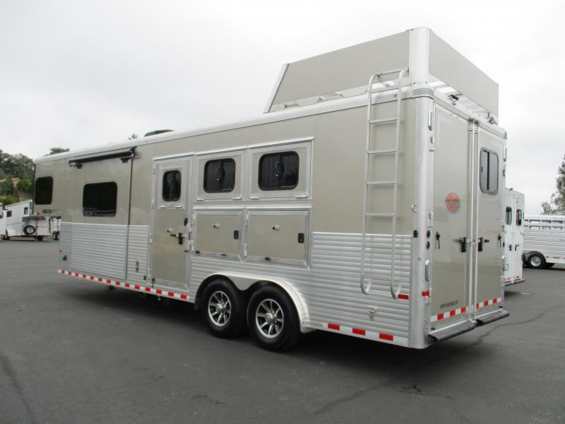 2019 Sundowner Horizon 8010 3H LQ Horse Trailer