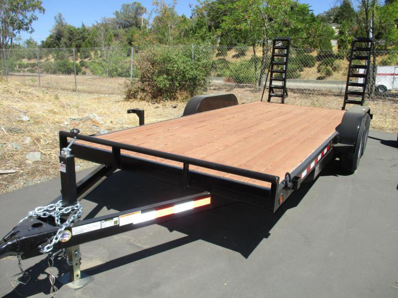 2018 R and J Trailers Inc 7 X 20 Equipment Trailer 10K