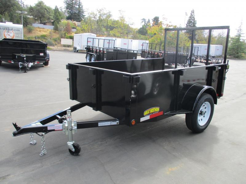 2017 Great Northern 5 x 8 Landscape Utility Trailer
