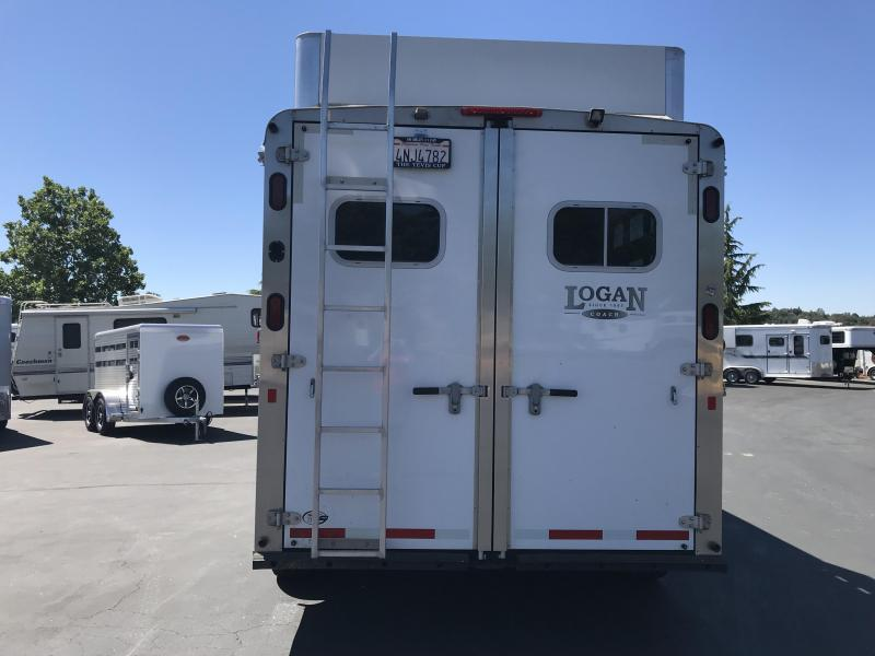 2014 Logan Coach Rampage 2H LQ Horse Trailer