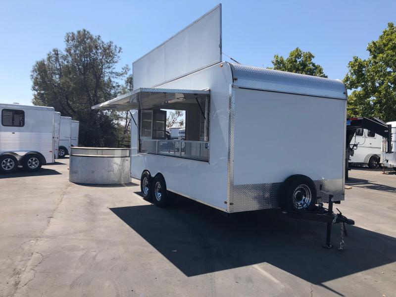 2016 SPCNS 8 X 16 Concession Cargo Trailer