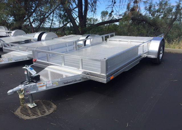 "2017 Sundowner 6'9"" X 10 Utility Trailer"