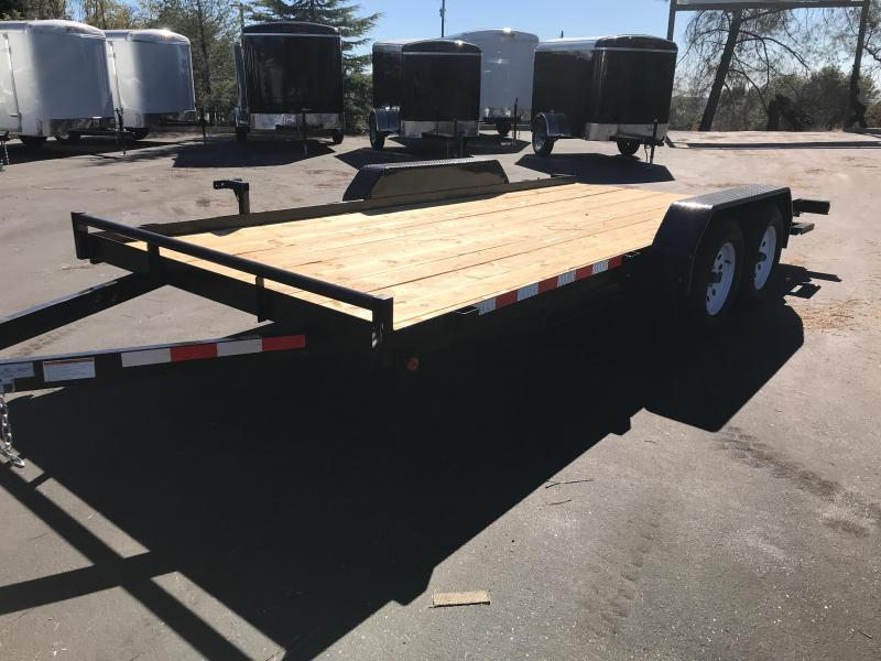 2019 R and J 7 x 16 Car Hauler