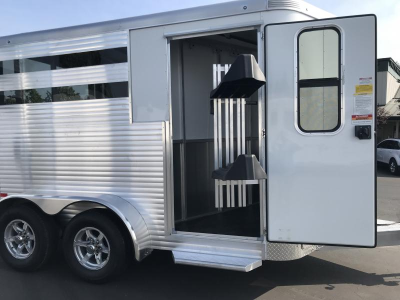 2019 Sundowner Trailers Super Sport 2H BP Horse Trailer