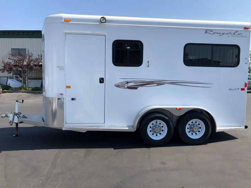 2008 Trails West Royale SST 2H BP Horse Trailer