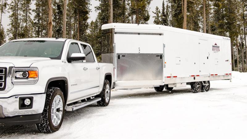 2018 Trails West RPM 28 Burant Edition Snowmobile Trailer