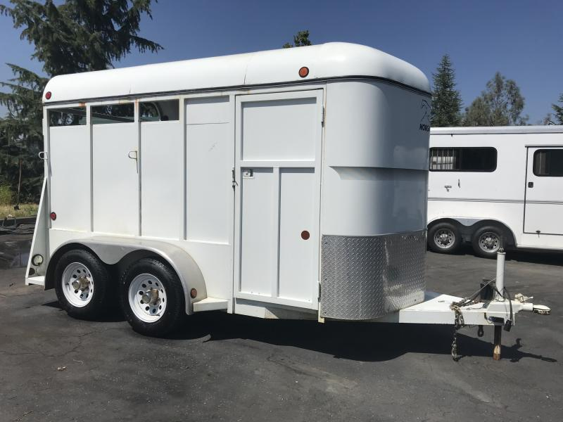 2004 Morgan Built 2H BP Horse Trailer