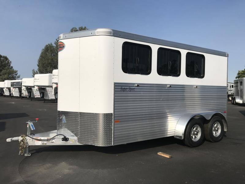 2020 Sundowner Trailers 3H BP Super Sport Horse Trailer