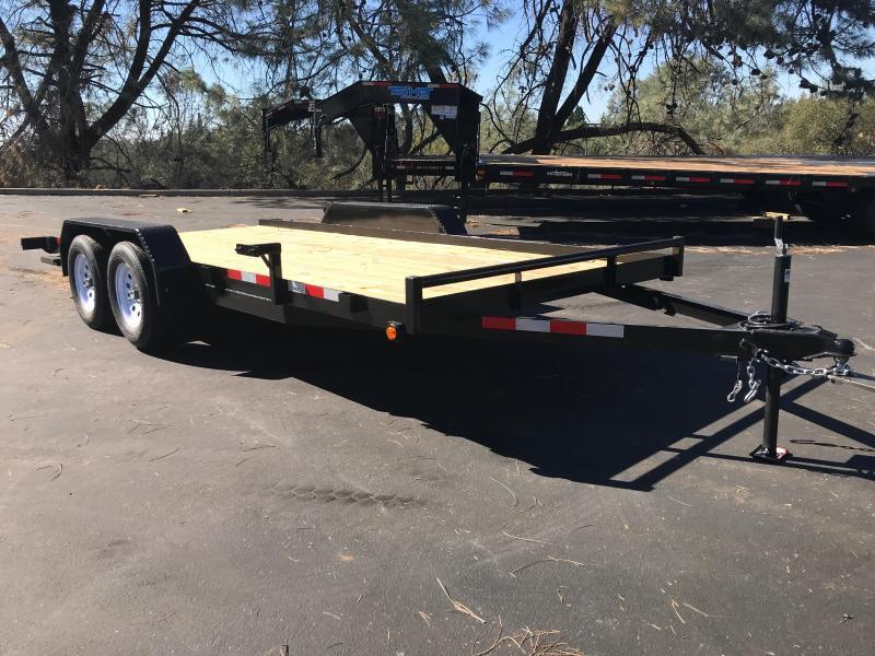 2019 R & J 7 X 16 Car hauler