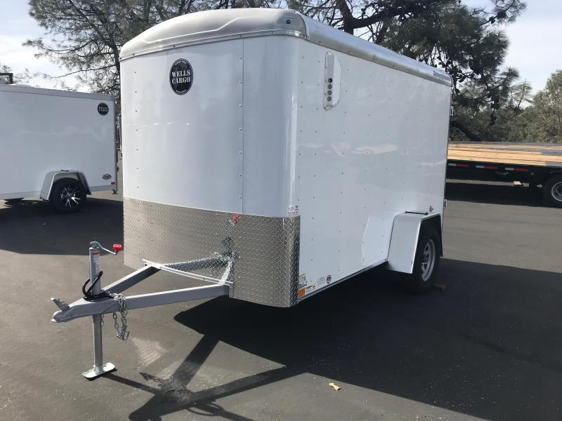 2019 Wells Cargo 6 x 12 Road Force SA Enclosed