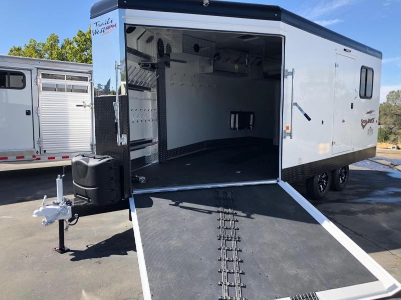 2019 Trails West Manufacturing RPM 28 4-place snowmobile Snowmobile Trailer