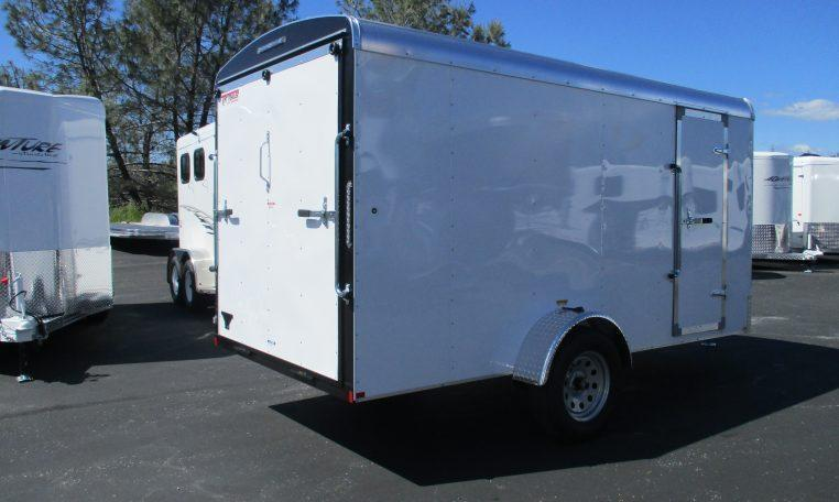 2019 TNT 6 x 12 Tote Single Axle Enclosed Cargo Trailer