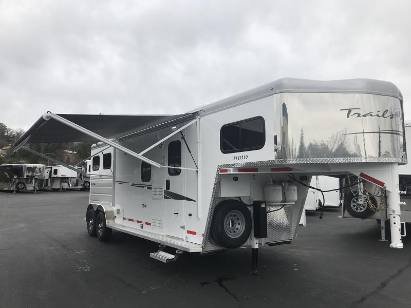 2019 Trails West Sierra LQ 2H 8 x 13 Slide-Out