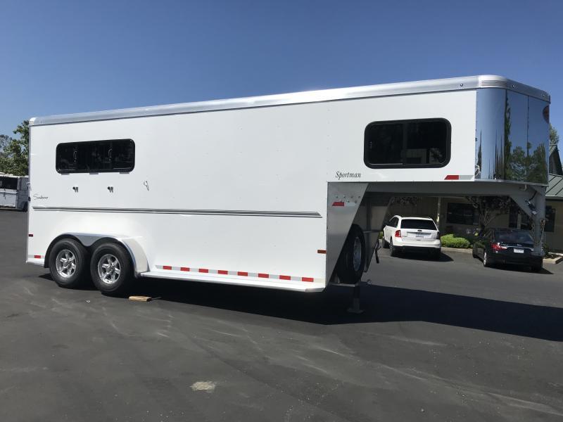 2019 Sundowner Sportman 3H GN Horse Trailer