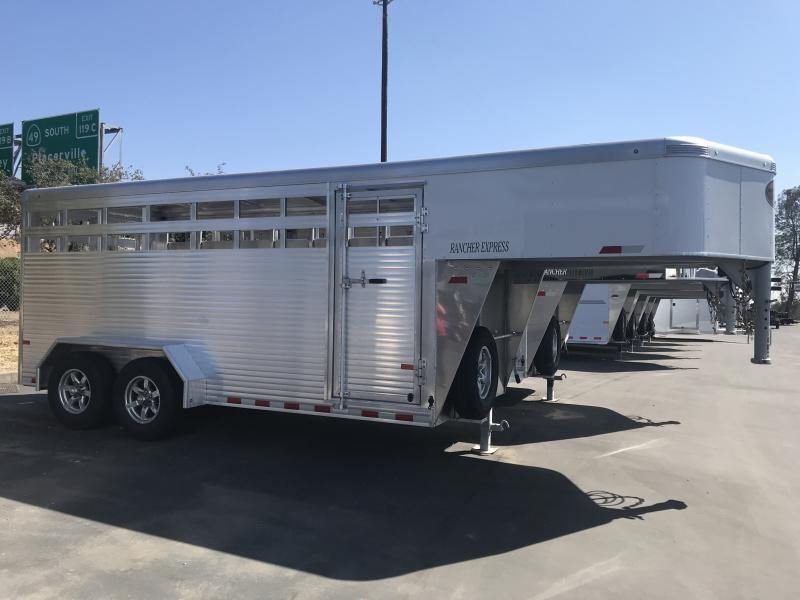 2019 Sundowner Trailers Rancher Express 16' GN Livestock Trailer
