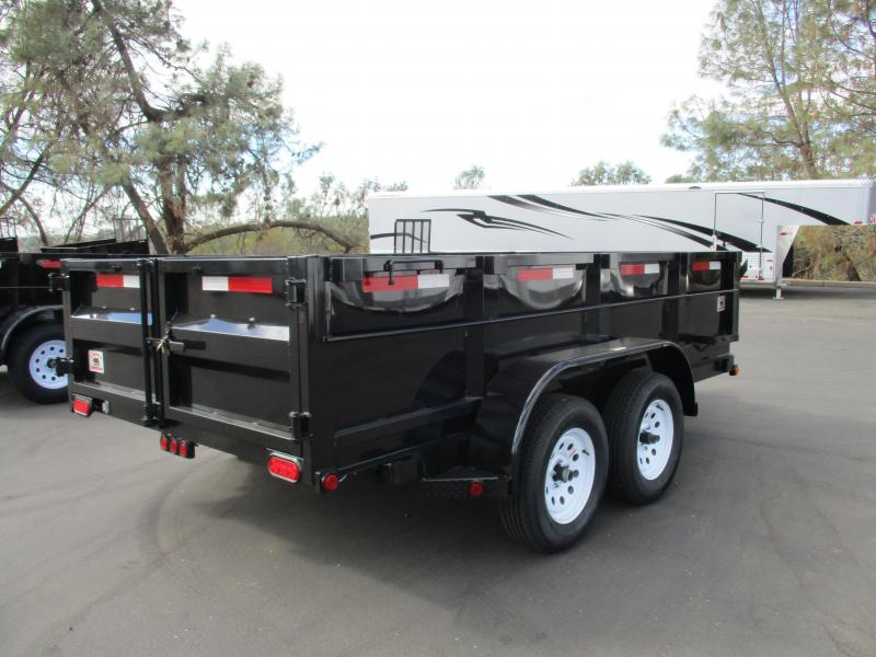 2018 R and J Trailers Inc 6 X 12 Dump Trailer 10K
