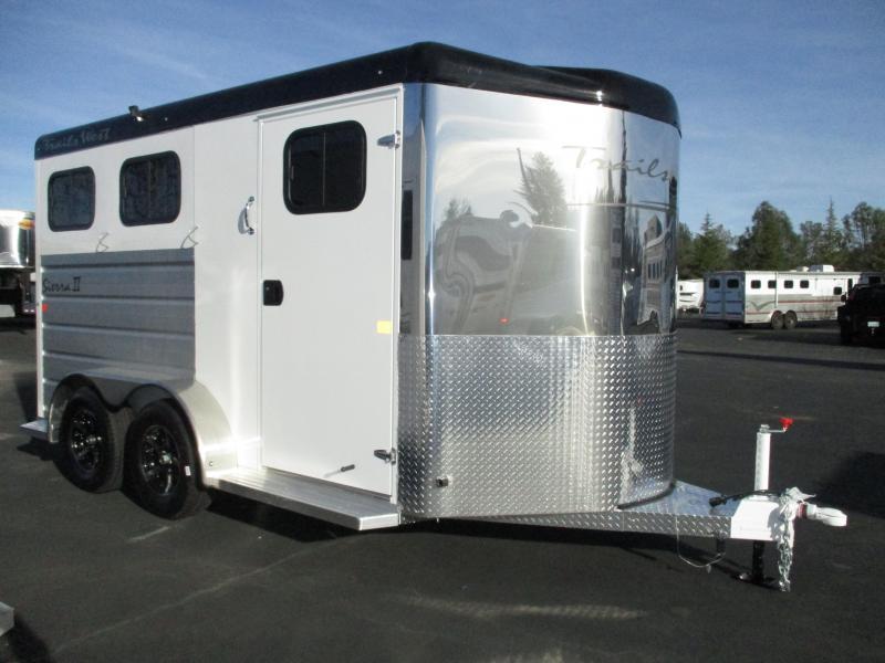 2018 Trails West Sierra II 2H BP Horse Trailer