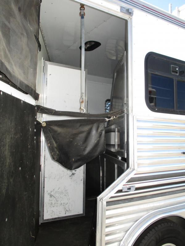 2000 Silver Lite 3H LQ Horse Trailer