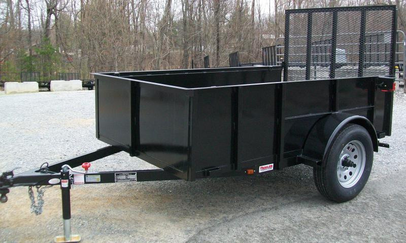 Better Built 5 x 10 2Ft. Solid Metal Utility Trailer