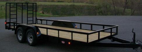 "Better Built 6'10"" x 16 Tandem Landscape Trailer"
