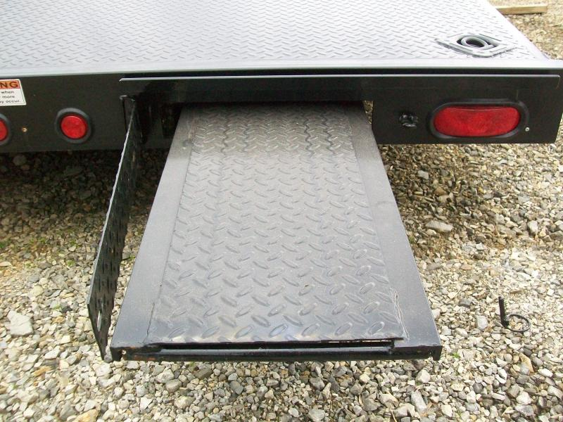 Quality -Std. 83 x 17 7K Car Trailer
