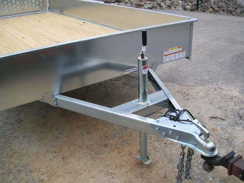 Sure-Trac 5 x 10 Galvanized Utility Trailer