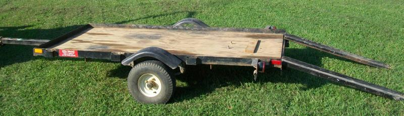 Used 4 x 8 Utility Trailer