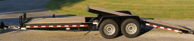 Quality 82 x 22 15K Partial Tilt Equipment Trailer