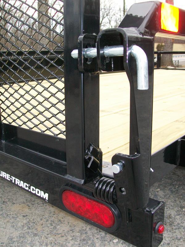 "Sure-Trac 6'9"" x 14 Tube Top Gate Utility Trailer"