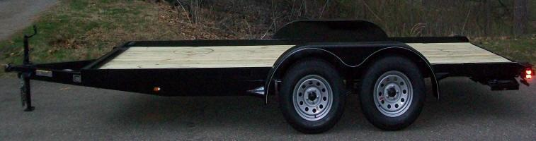 Better Built 82 x 20 7K Equipment / Car Trailer