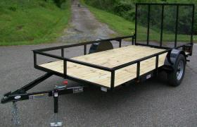 "Better Built 6 x 12 12"" Open Rail Utility Trailer"