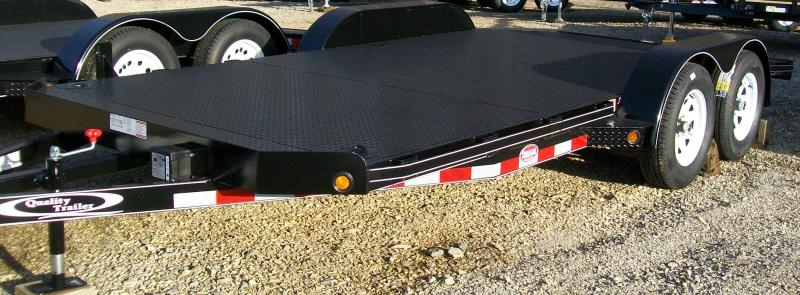 Quality 82 x 17 -DLX 7K Car Trailer