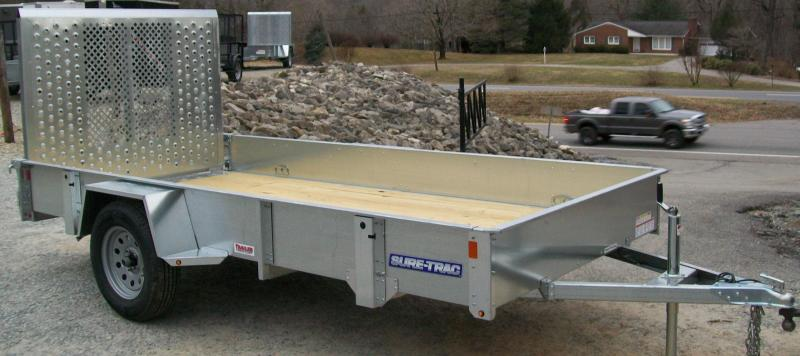 Sure-Trac 5 x 8 Galvanized Utility Trailer
