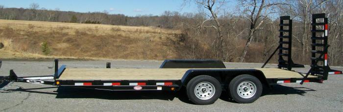 Quality 82 x 18 7K Equipment Trailer