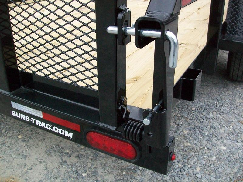 Sure-Trac 6 x 10 Tube Top Utility Trailer
