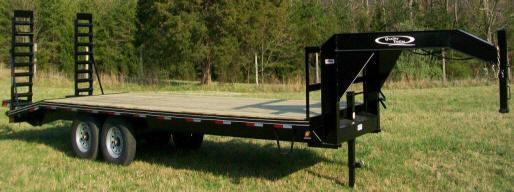 Quality 24' 14K Gooseneck Equipment Trailer