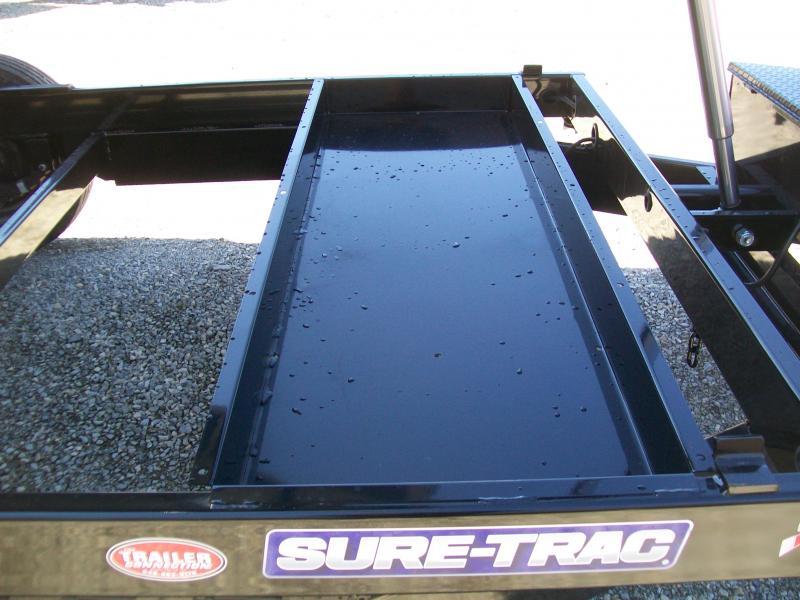 Sure-Trac 82 x 14 16K Telescopic Dump Trailer