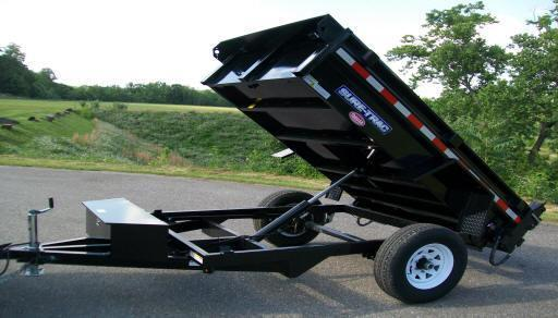 Sure-Trac 5 x 8 Low Profile Homeowner Dump Trailer