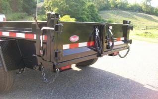 Sure-Trac 5 x 8 Low Profile Homeowner Dump Trailer