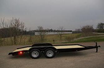 Better Built 82 x 20 7K Equipment / Car Trailer