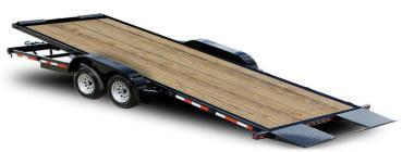 Quality 82 x 20 10K Full Tilt Equipment Trailer