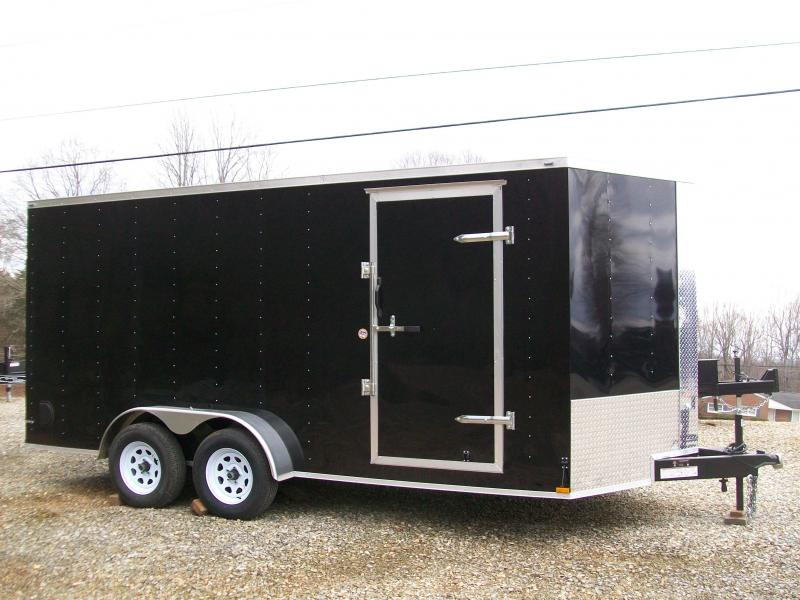 Lark 7 x 16 Enclosed Cargo Trailer